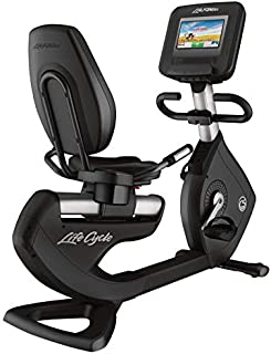 Life Fitness 95R Discover Recumbent Bike with SI Console