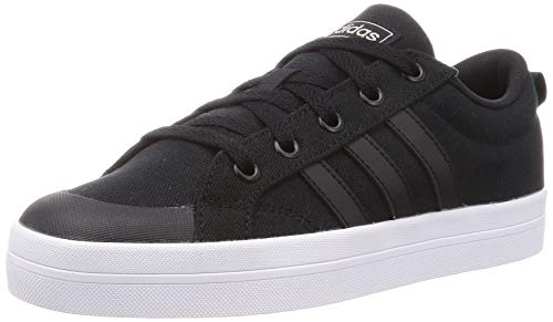 adidas Bravada, Zapatillas de Deporte Mujer, Core Black/FTWR White/Matte Silver, 40 2/3 EU