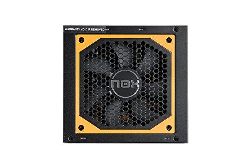 Nox NXURVX650BZ Urano VX 650W Bronze - Fuente de Alimentación (650 W), Color Negro