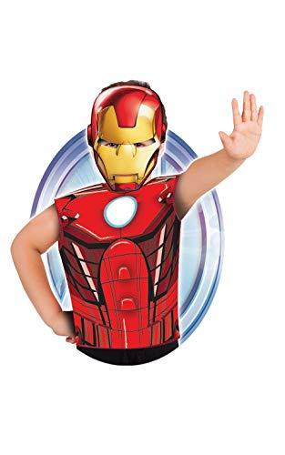 Marvel - Disfraz de Iron Man set de fiesta camiseta + má