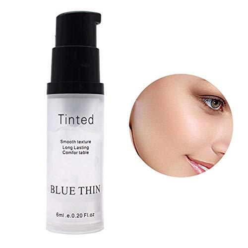 Sunflowerany Base de Maquillaje Invisible 6ML Control de Aceite iluminador Primer Facial Gel Aislante en Crema Base humectante Primer