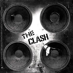 The Clash Aufkleber Sticker Punk Bands Musik Rock Lautsprecer Boxen ca. 10x10 cm