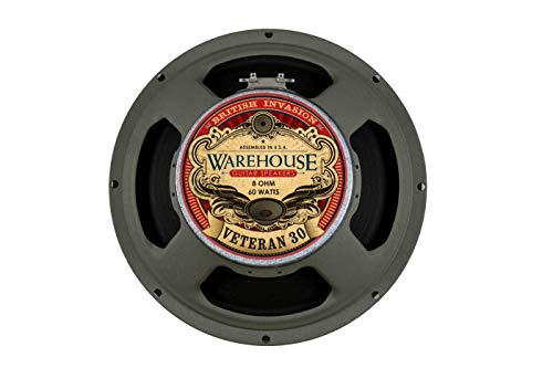 Warehouse Guitar Speakers Veteran 30 12' 60W British Invasion Guitar Speaker 8 Ohm