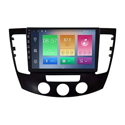 Reproductor Multimedia estéreo para automóvil Radio automática para Hyundai Sonata NF 2008-2010 Unidad Principal Navegación GPS con Pantalla táctil HD de 9 Pulgadas WiFi Bluetooth FM SWC MP5 Receptor