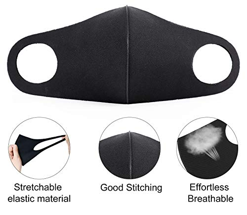 2 Pieces Unisex Face, Outdoor Haze Face Durable Breathable Lightweight Face Shield Dust Mouth