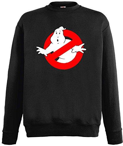 world-of-shirt Herren & Kinder Sweatshirt Ghostbusters Pullischwarz-128