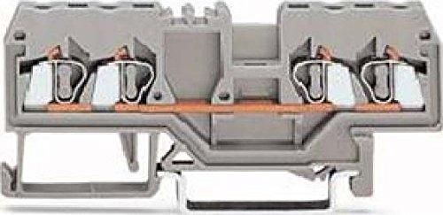 Wago 4-Leiter Durchgangsklemme 2,5 qmm, 280-833