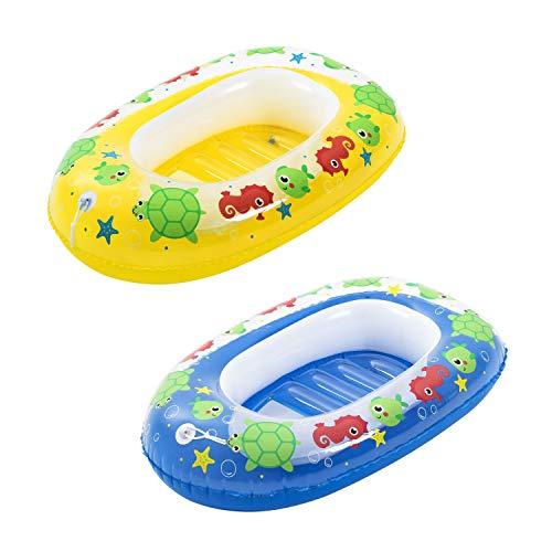 """Bestway BW34037-20 aufblasbares Schlauchboot für Kinder \""""Kiddie Raft\"""", sortiert 102 x 69 cm"""