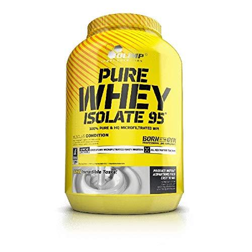 Olimp Pure Whey Isolate 95, Vanille Geschmack, 1800 g, Eiweißpulver mit Aminosäuren