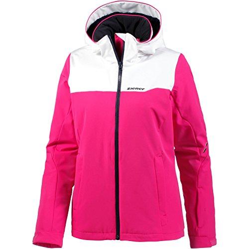 Ziener Damen TAMILA Jacket ski Skijacke, pink Blossom, 40