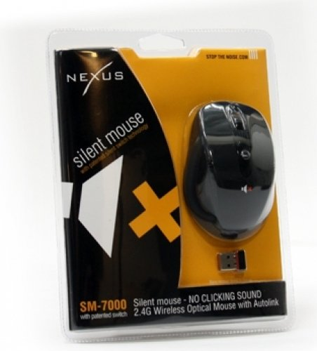 Nexus SM-7000B Silent Mouse