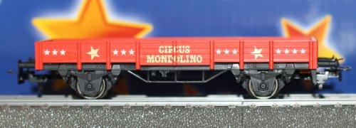 Murale h0 niederbordwagen circus mondolino 4423 base
