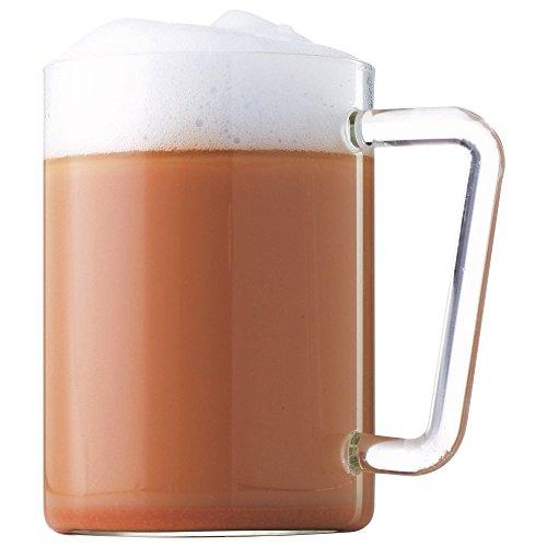 BOROSIL® Teetasse/Kaffeetasse | 500ml | Teegläser 2er Set | Sehr Leicht, Schlicht & Dünnwandig | Bleibt Klar | Spülmaschinenfest | Hitzebeständig