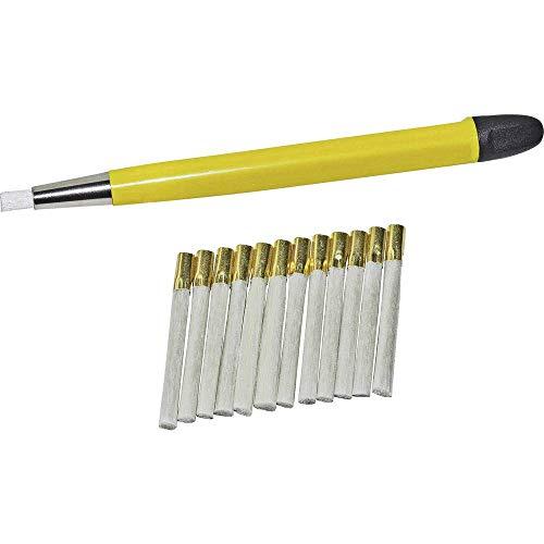 RoNa Glasfaserradierer Ø 4mm inklusive 12 Ersatzpinsel