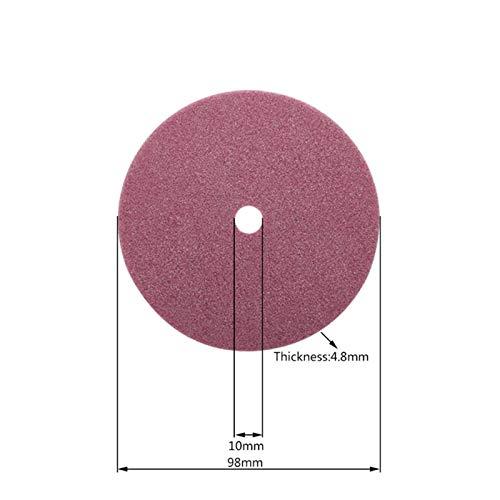 Papel de lija lijado colgajo disco molienda colgajo whee Discos de molienda, afilador de motosierra eléctrica Rueda de molienda de diamante 98/105 / 145mm de espesor 3.2 / 4.5mm Corte de borde y caden