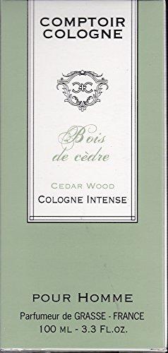 Eau de Cologne Intense, Bois de Cèdre, 100 ml