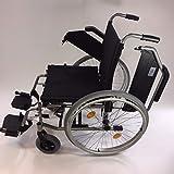Trendmobil Rollstuhl TMB Faltrollstuhl Transportrollstuhl Reiserollstuhl mit Steckachsensystem Sitzbreite 45 cm - 5
