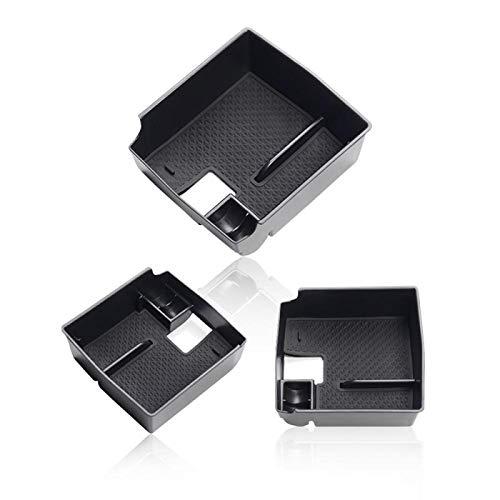 Tonyzhou Co.,ltd Auto-Zentralarmlehnen-Aufbewahrungsbox, für Toyota Corolla E210 2019 2020 Auto Interior Control Storage Black