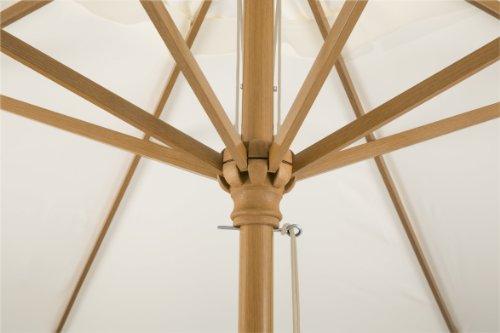 Schneider Sonnenschirm Malaga, natur, ca. 300 cm Ø, rund