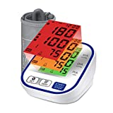 Olex Plus Digital Blood Pressure Monitor with Tri-color Backlit display, USB and Carry Bag