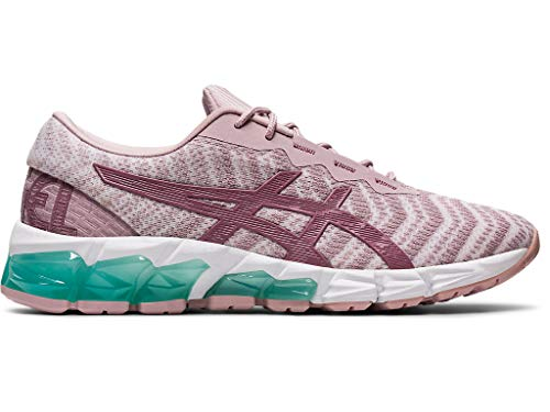 ASICS Women's Gel-Quantum 180 5 Running Shoes, 7M, Watershed Rose/Purple Oxide