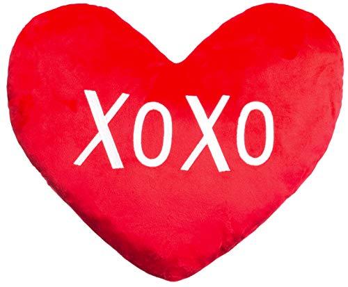 Brandsseller XOXO Design - Cojín (28 x 24 x 8 cm), diseño de corazón, color...