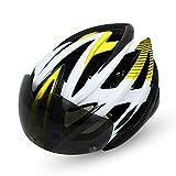 Casco de bicicleta, caliente Capacete Ciclismo Ciclismo Seguridad Proteger la cabeza del casco de la bicicleta de montaña bicicleta de carretera Cascos deporte del casco de los hombres accesorios de b