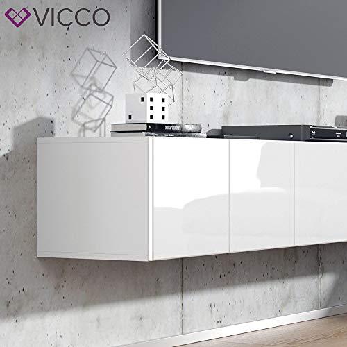 Wohnwand – Vicco TV Board Cumulus hängend Bild 6*