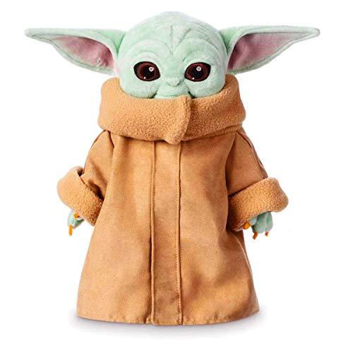 Baby Yoda Plush Figure Toys, 11.8 Inch The Child Yoda Plush Toys Yoda Stuffed Doll from The Mandalorian Birthday Gift For Kids