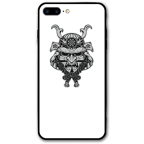 Case For Iphone 7 Plus The Face Of A Ferocious Japanese Warrior Slim Fit Shell Full Protective Anti-Scratch Resistant Cover Apple IPhone 7 Plus Case