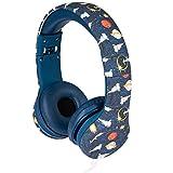 Snug Play+ Kids Headphones Volume Limiting and Audio Sharing Port (Space)