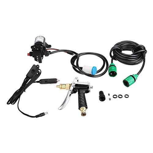 HYY-YY Limpiador eléctrico de 80W 12V Bomba eléctrica Lavadora Squirt pulverizador de lavado autocebante Bomba de agua for la limpieza del auto del coche de válvula de alta presión