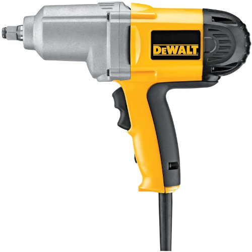 professional DEWALT impact wrench, cam ring anvil, 7.5 amps, 1/2 inch (DW293)