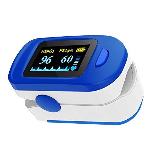 ViATOM Schlafmonitor, Sp-O2- und Herzfrequenzmonitor für Erwachsene und Kinder, Sauerstoff-Fingermonitor mit Umhängeband und Batterien
