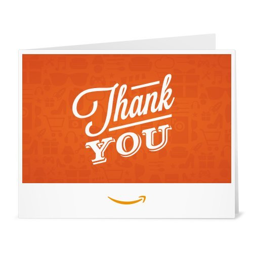 Amazon Gift Card - Print - Thank You Icons