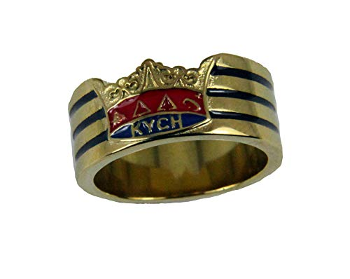 The Quiet Witness T57 Stainless Steel KYCH Ring Knight York Grand Cross of Honor Mason Masonic York Rite (11)