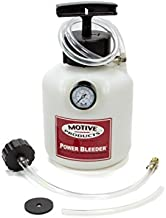 Motive Products, European Power Brake Bleeder, 0100, Hand Pump Pressure Tank with Adapter