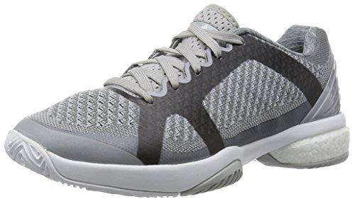 adidas Asmc Barricade Boost, Scarpe da Tennis Donna, Grigio/Nero (Mister/Univer/Bianco), 38