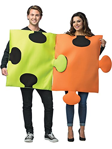 Puzzle pieces 2 piece couples costume