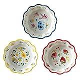 chishizhenxiang Cuenco de cerámica para ensalada, fruta, ensalada, fruta,...