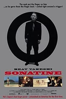 11 x 17 Sonatine Movie Poster