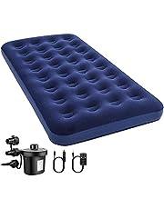 エアーベッド 簡易ベッド 空気ベッド エアーマット 宿泊客 お昼寝 スペース活用 キャンプ用 高反発 185x76x厚さ22cm