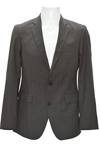 Celio Veste DE Costume Marron VUWASHY LI Homme CINTREE Neuf (FR Taille L : Veste 50)