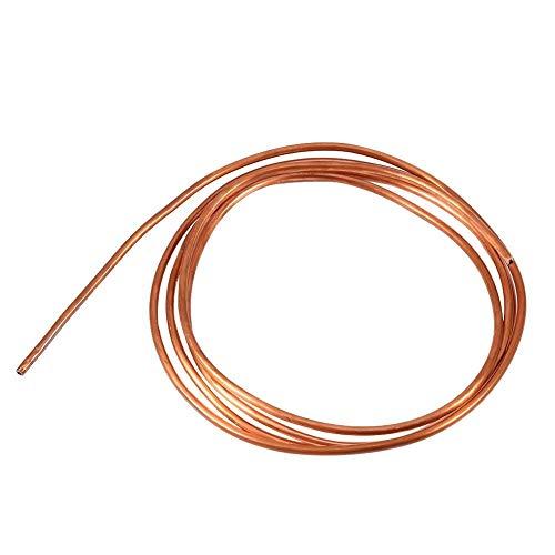 FTVOGUE Tuyau de tube en cuivre souple 2M OD 4mm x DI 3mm pour la plomberie de réfrigération