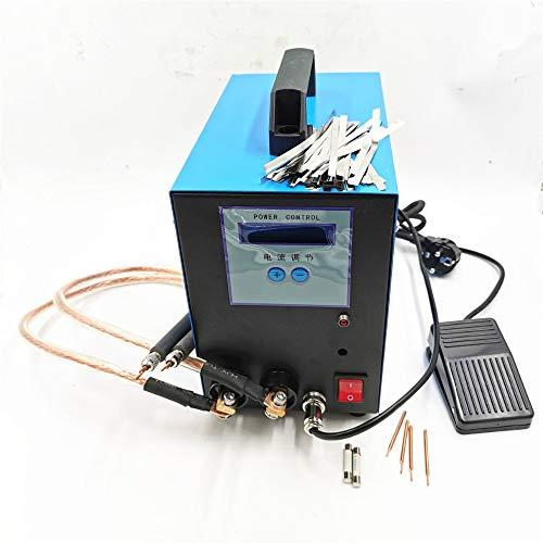 QWERTOUY Spot Welding 18650 Battery spot Welder 10KW 110V/220V Handheld spot Welding Machine spot Welder Welding Machine