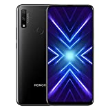 Honor 9X Smartphone,4GB RAM, 128GB ROM,Display 6.59' Full HD+,NFC,Fotocamera Posteriore 48+2MP,Fotocamera Frontale Pop-up 16MP,Dual SIM,Versione Speciale (Nero)