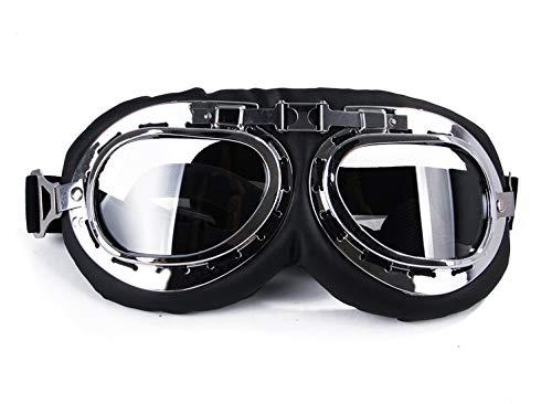 GabeFish Fashion Cool Aviator Polarized Dog Sunglasses Pets Stylish Motorcycle Swimming Goggle