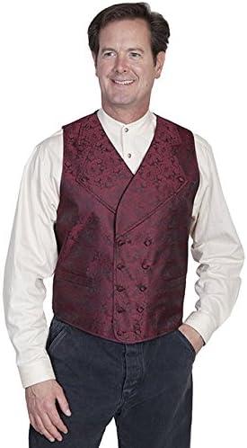 Scully Rangewear Men's Rangewear Wide Notched Lapel Vest