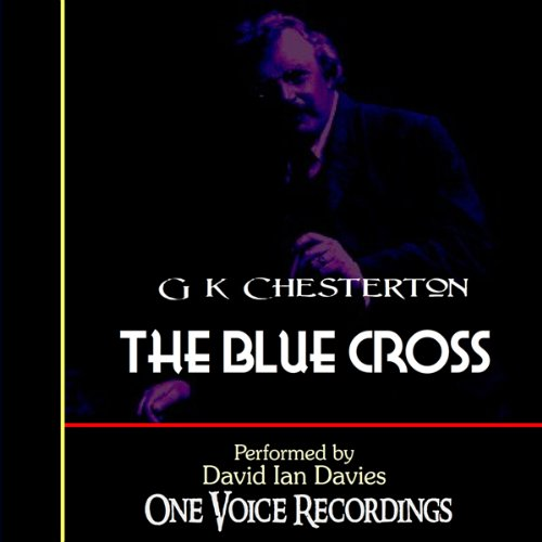 The Blue Cross audiobook cover art