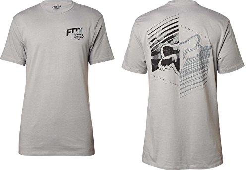 Fox Herren T-Shirt Dirt Burn Short Sleeve - grau - X-Groß